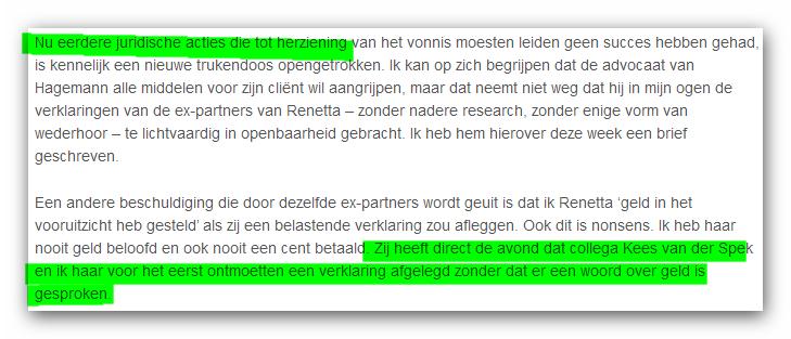 Actualiteit leugen Peter R. de Vries